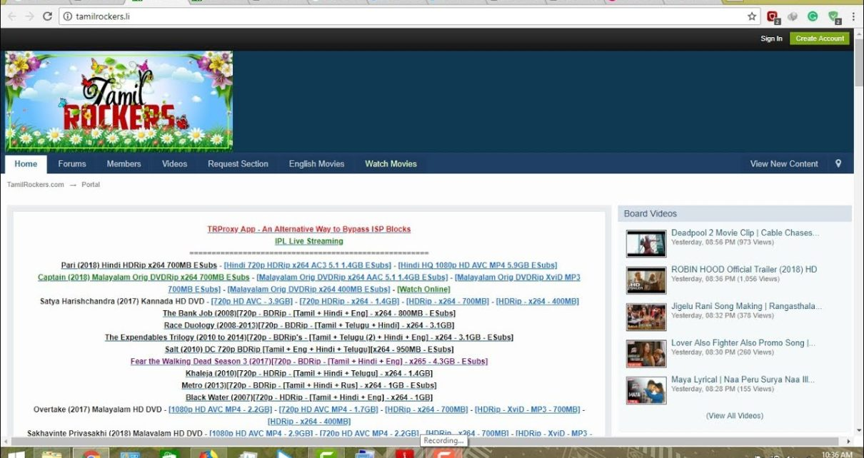 TamilRockers movie 2019 | Download Free Online Latest Tamil